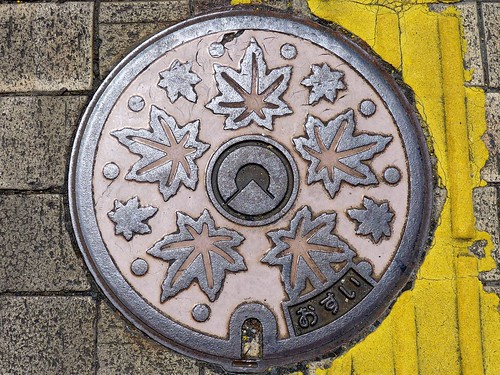 Itoshima Fukuoka, manhole cover 2 (福岡県糸島市のマンホール2)