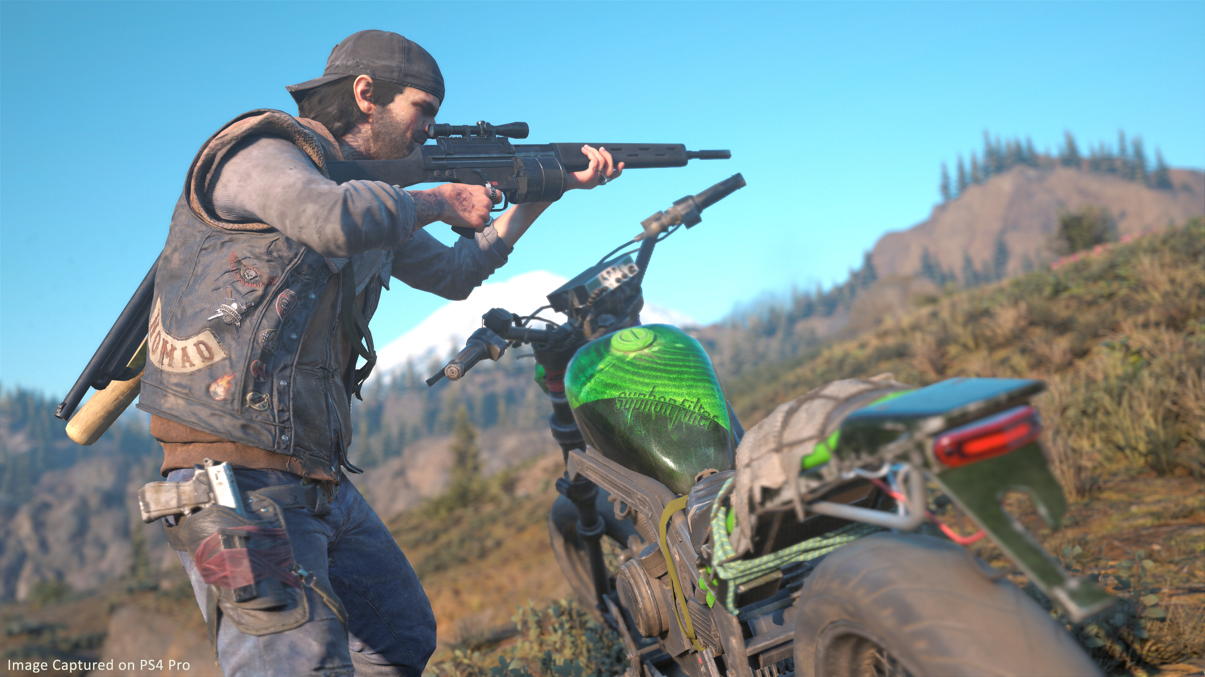 Days Gone's New Game Plus on PS4