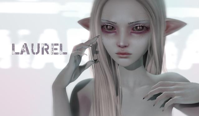 LAUREL skin mod / eyes / nails