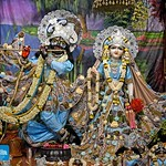 Hare Krishna Temple Ahmedabad Deity Darshan 05 Sep 2019