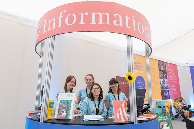 The Info Desk and team