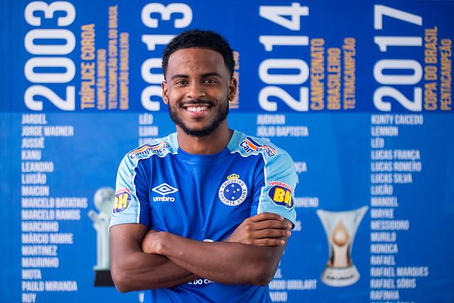 Ezequiel, novo reforço do Cruzeiro