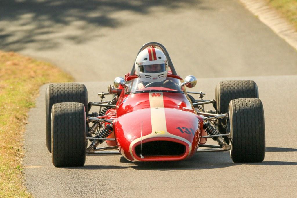 The Brabham BT35 of Chris Bentley at Gurston (Steve Lister)