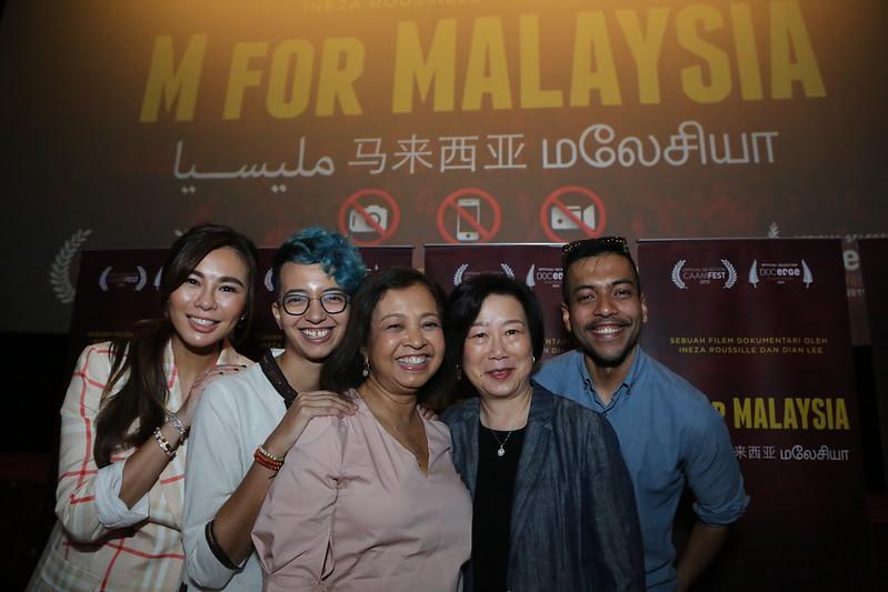 Group Photo - Dian Lee, Ineza Roussille, Marina Mahathir, Ruby Yang, Rendra Zawawi