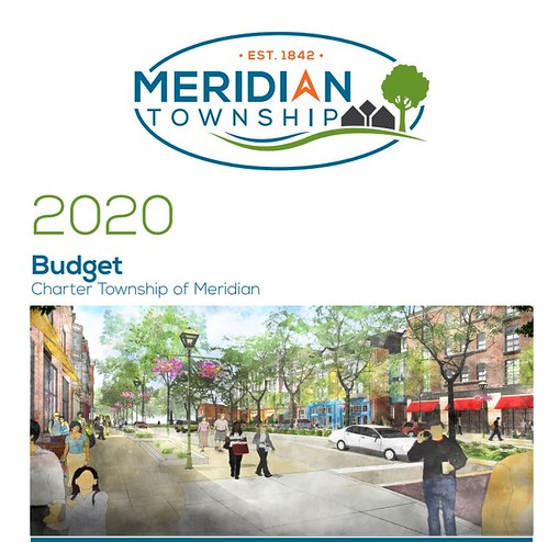 2020 Recommended Budget Before the Meridian Township Board