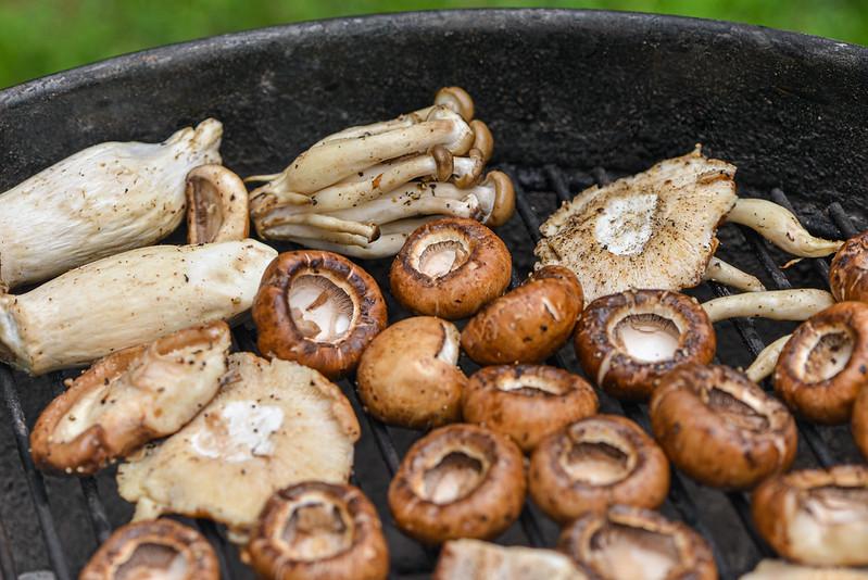 Mushroom Larb