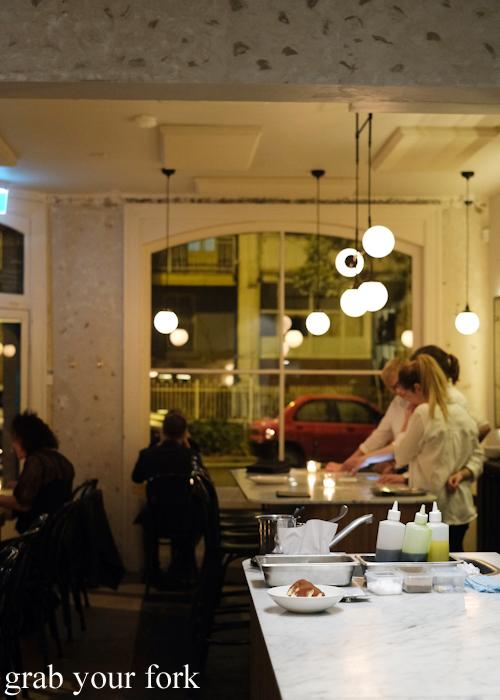 Dining room at Arthur Restaurant in Surry Hills Sydney