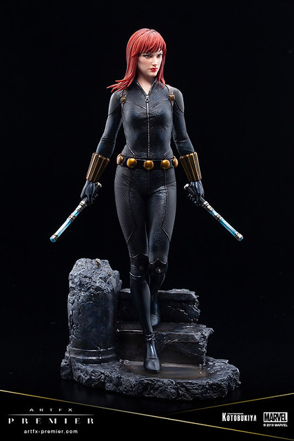 漫威第一女主角!壽屋 ARTFX PREMIER 系列 Marvel Universe 黑寡婦 1/10 比例 PVC 塗裝完成品(ブラック・ウィドウ)