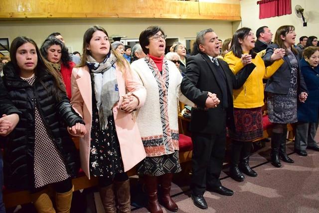 UNIPECH Mulchén informa sus actividades de preparación espiritual y material
