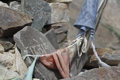 Mani stones - Tashigang, Himachal Pradesh