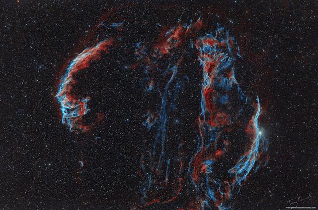 The Cygnus Loop Supernova Remnant (William Optics STC)