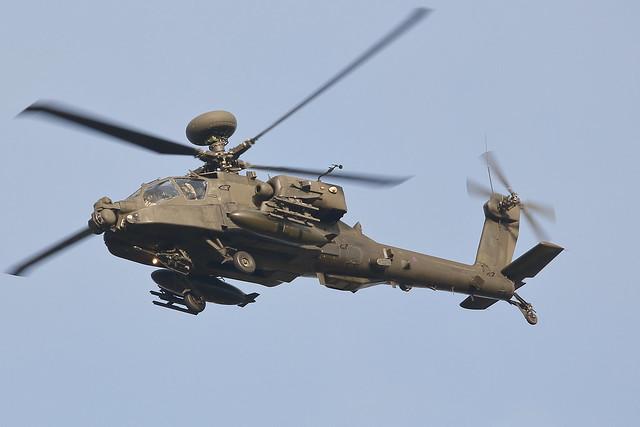 Army Air Corps Westland AH64 Apache ZJ218