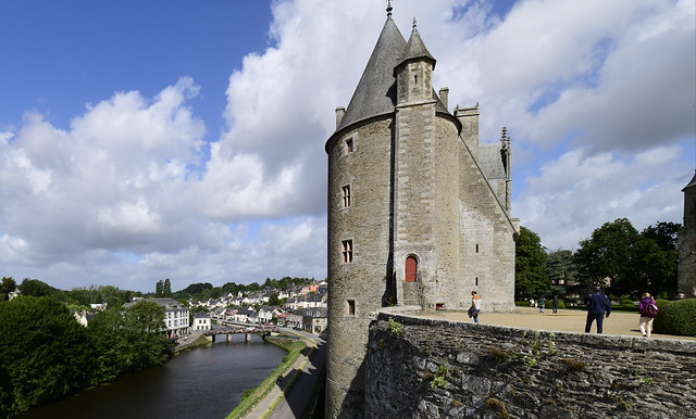 Josselin, Bretagne, France, August 2019 552