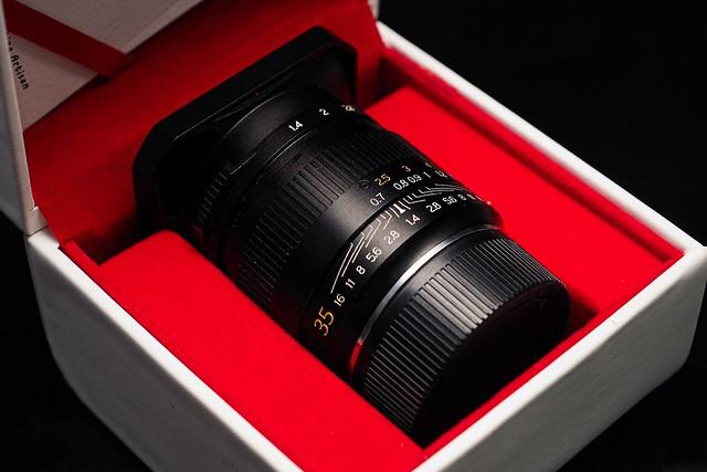 銘匠光學 TTARTISAN 35mm f/1.4 unbox