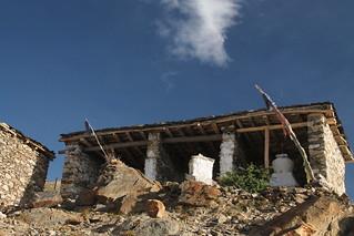 Stupa in Nako, Himachal Pradesh