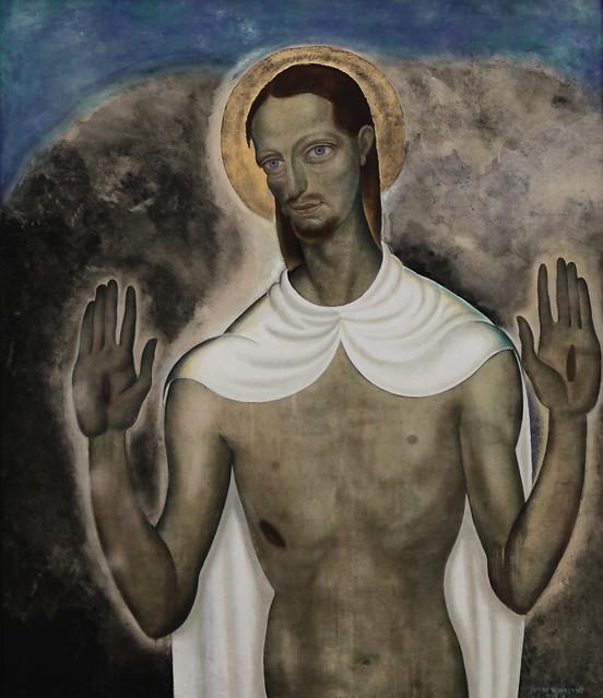 Christus toont zijn wonden (1921)