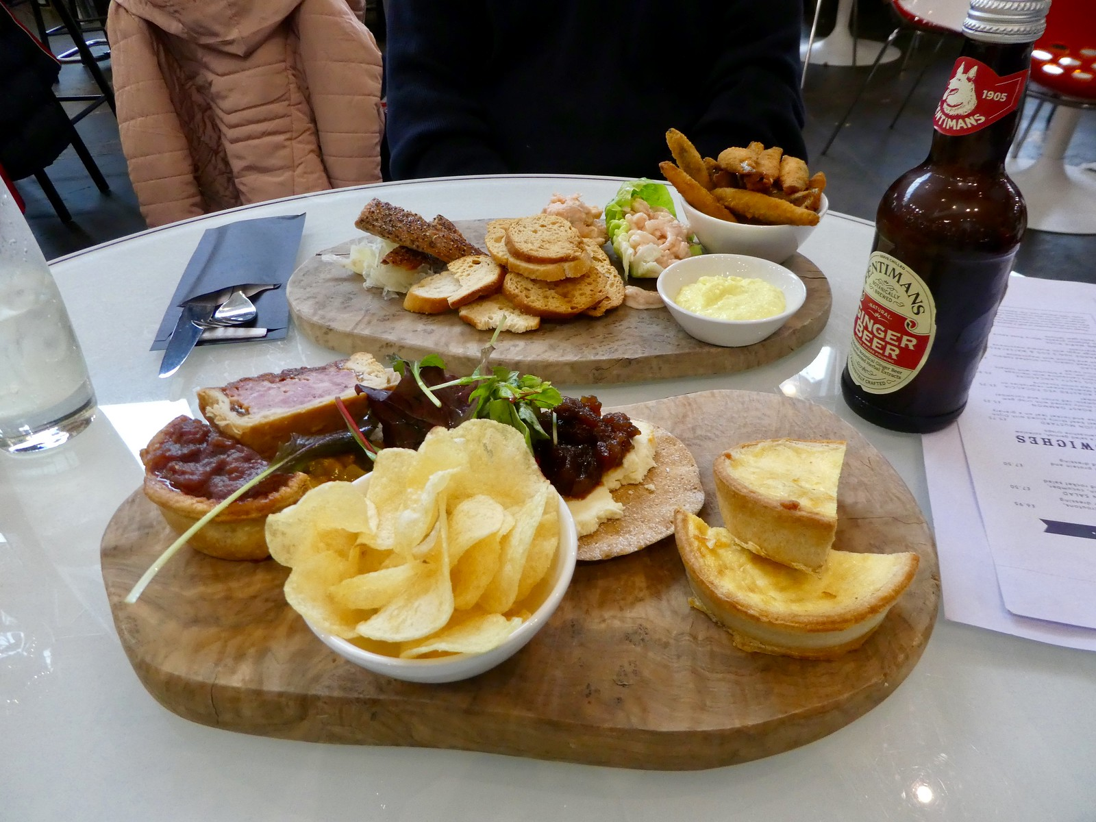 Lunch at Bowland Food Hall at Holmes MIll, Clitheroe