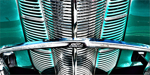 Grille - 1940 FORD DELUXE COUPE