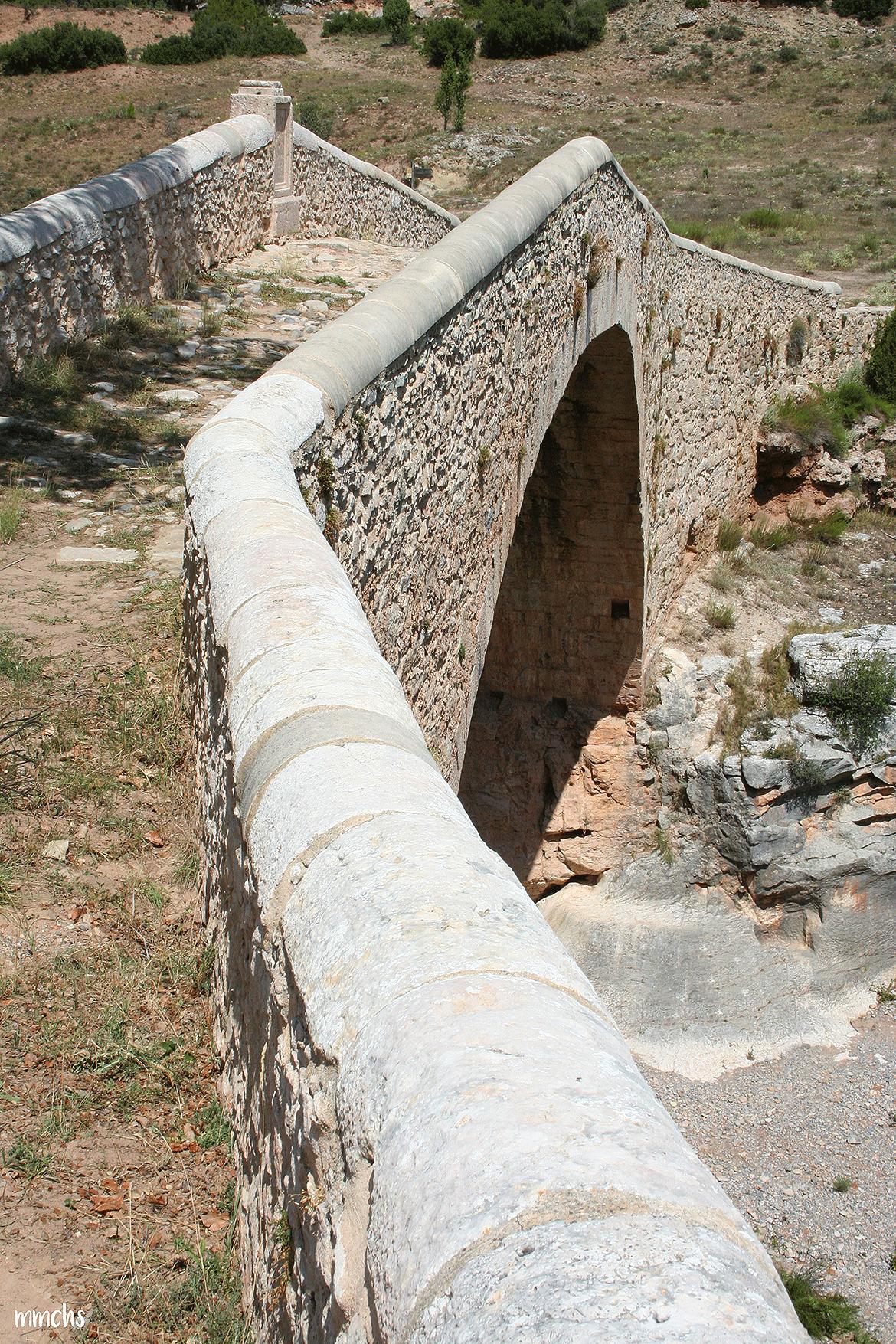 puente del Siglo XVII año 1670 Rubielos de Mora