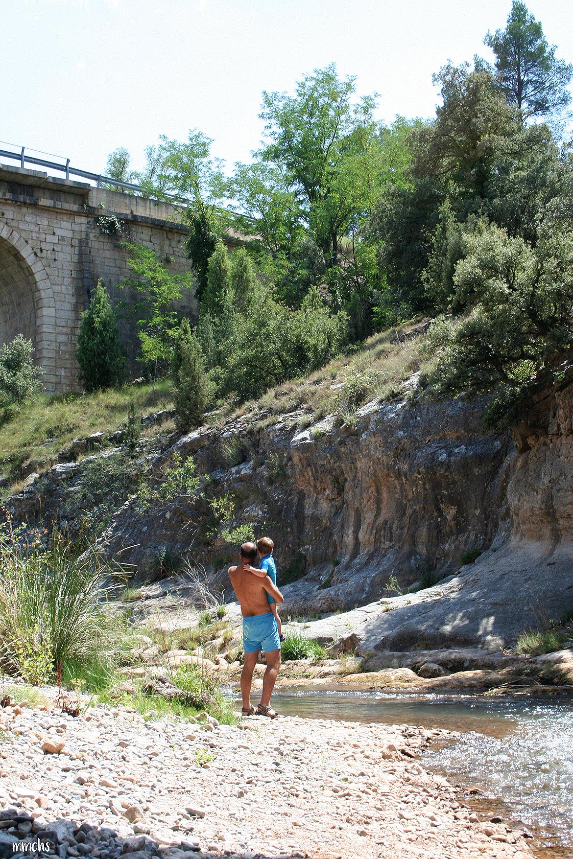 Rubielos de Mora Teruel río Mijares