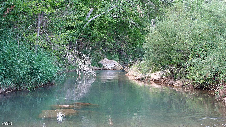 río Mijares Rubielos de Mora Teruel