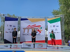 Kate medal ceremony Mexico NACAC 2019
