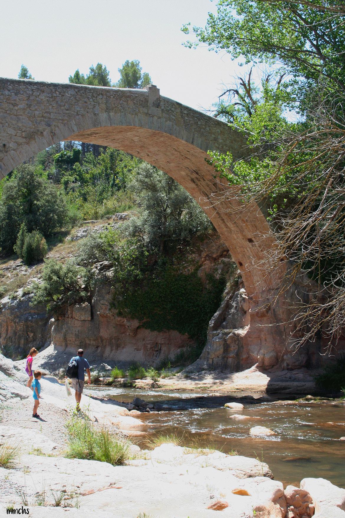puente del Siglo XVII año 1670 Rubielos de Mora Teruel