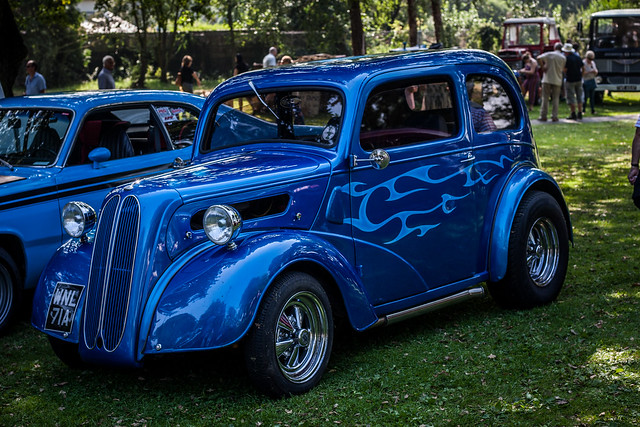 blue ford pop