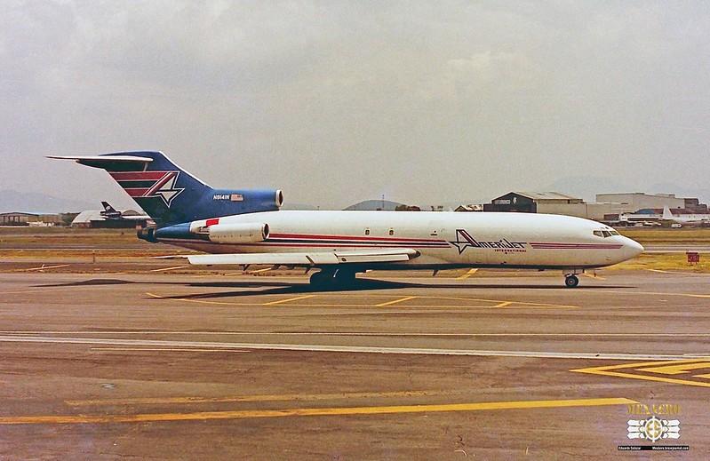 Amerijet International / Boeing 727-25(F) / N8141N