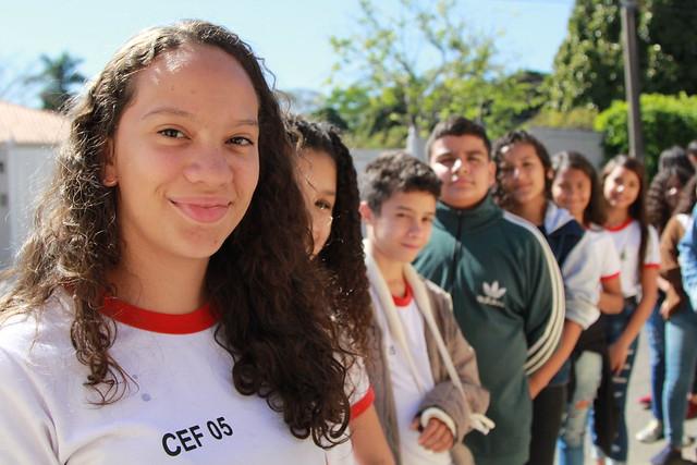 Programa Embaixada de Portas Abertas: Centro de Ensino Fundamental 05 do Gama visita a Embaixada de Trinidad e Tobago