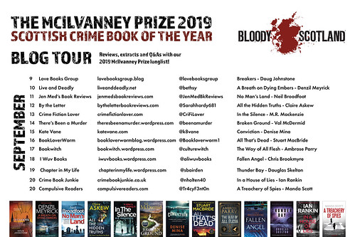 Bloody Scotland Blog Tour 2019
