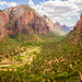 West Rim Trail, Zion National Park, Utah, USA