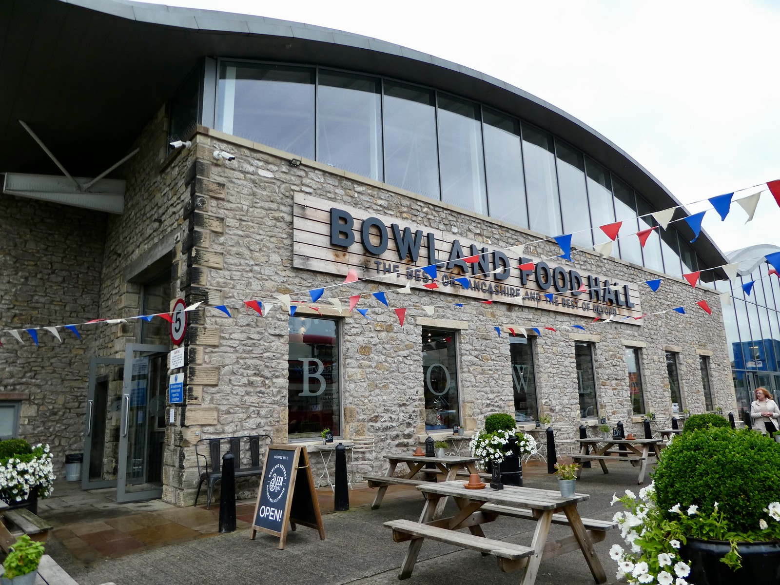 Bowland Food Hall at Holmes MIll, Clitheroe
