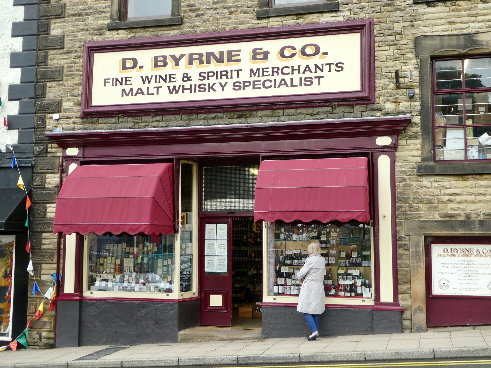 D. Byrne & Co. Wine Merchants, Clitheroe