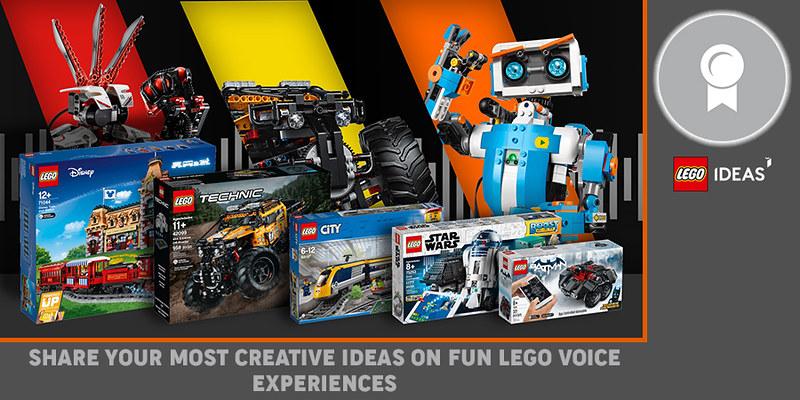 LEGO Ideas Contest Voice Experiences