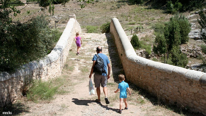 puente del Siglo XVII Rubielos de Mora Teruel