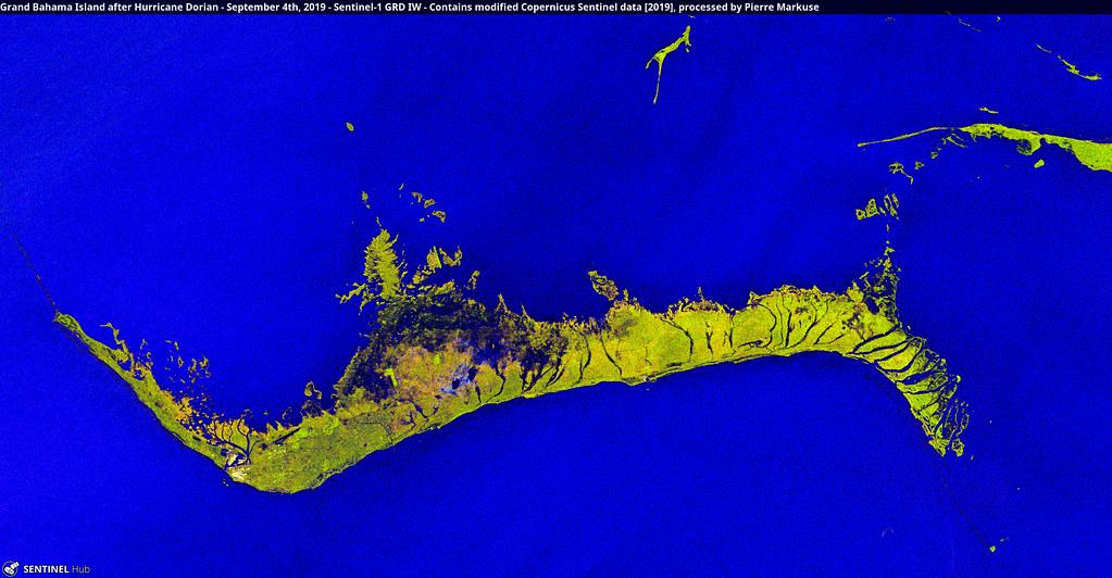 Grand Bahama Island after Hurricane Dorian - September 4th, 2019