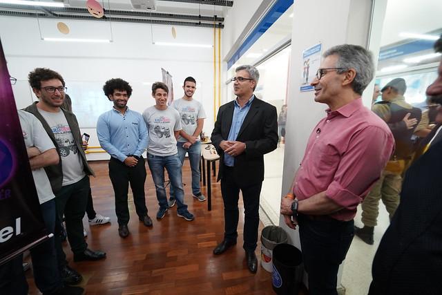 Cerimonial Projeto Piloto 5G e visita do Governador Zema ao Inatel