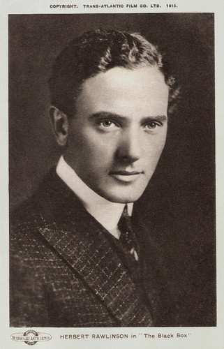 Herbert Rawlinson in The Black Box