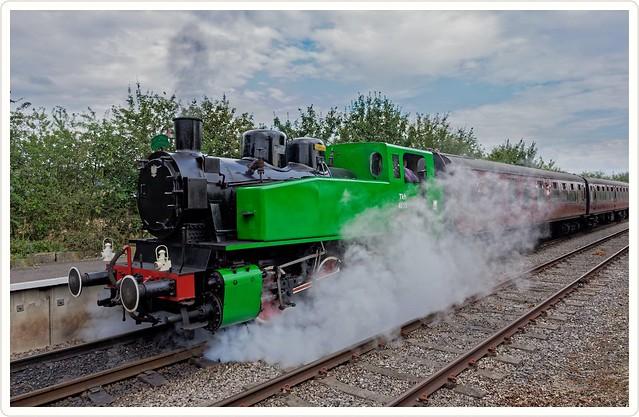 """TKh49 No. 4015 """"Karel""""  Seen here at Avon Valley Railways 150th anniversary."""