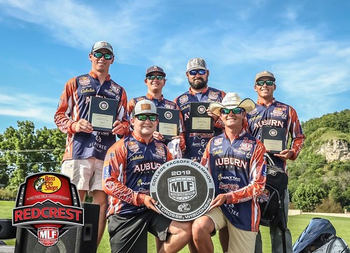 Auburn University Bass Fishing team