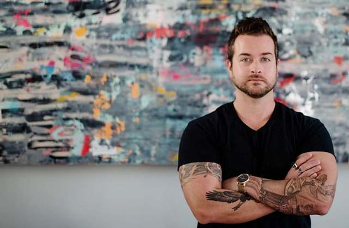 """""""LAYERED"""" A Solo Exhibition by Jeremy Mangerchine"""