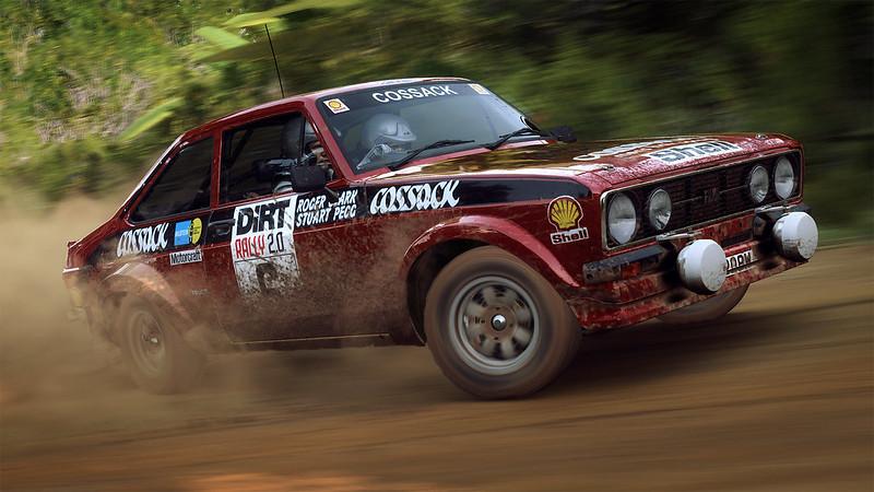 DiRT Rally 2.0 Escort