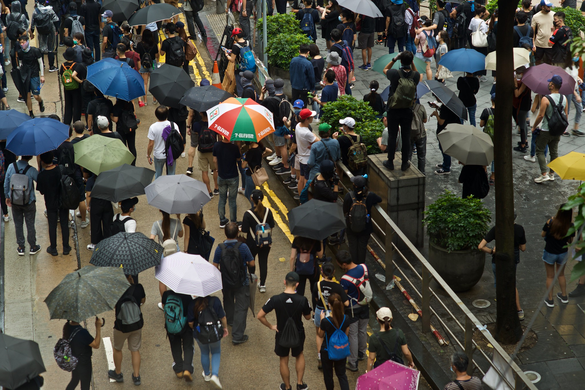 Hong Kong add oil