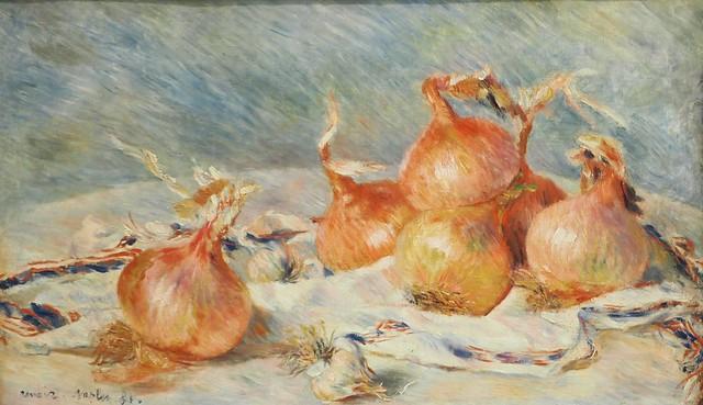 Pierre-Auguste Renoir,     Cipolle e aglio