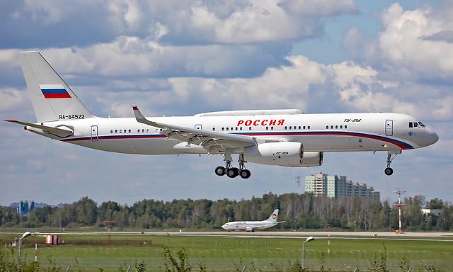 RA-64522 - Tupolev Tu-214SUS - VKO