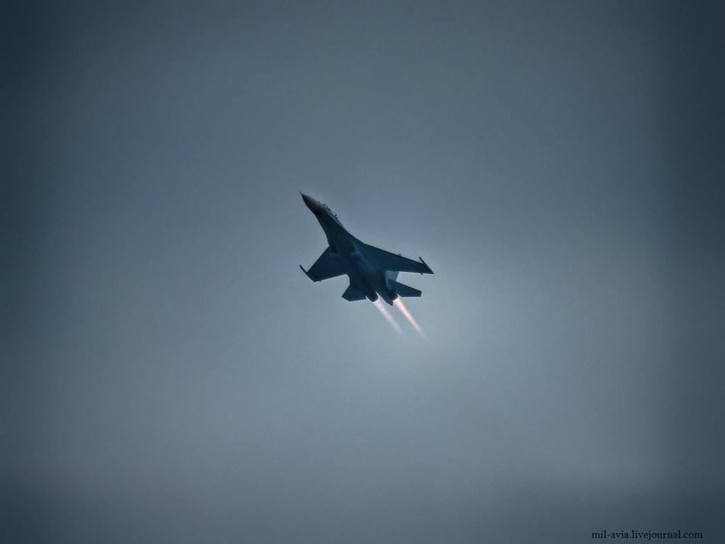 Flanker takeoff
