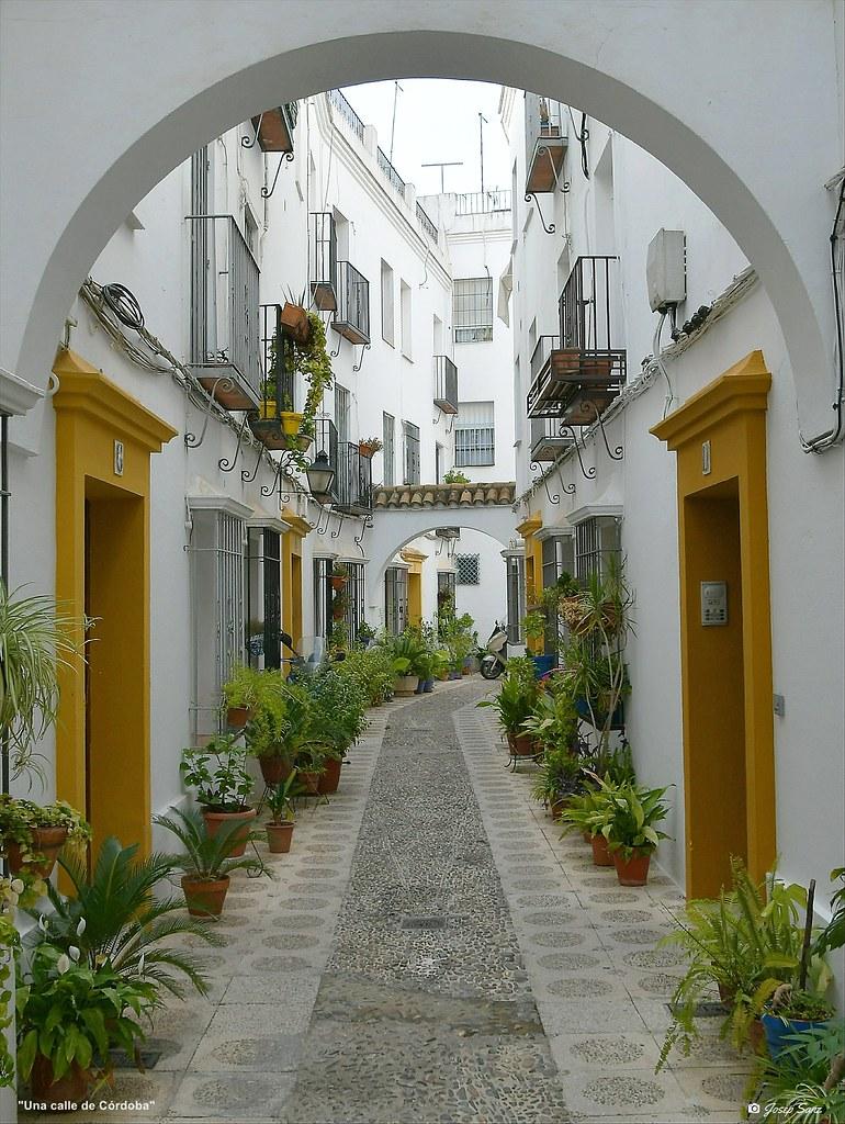 Una calle de Córdoba