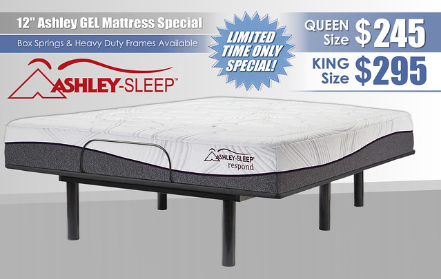 Ashley12Mattress Special_LimitedTimeOnly