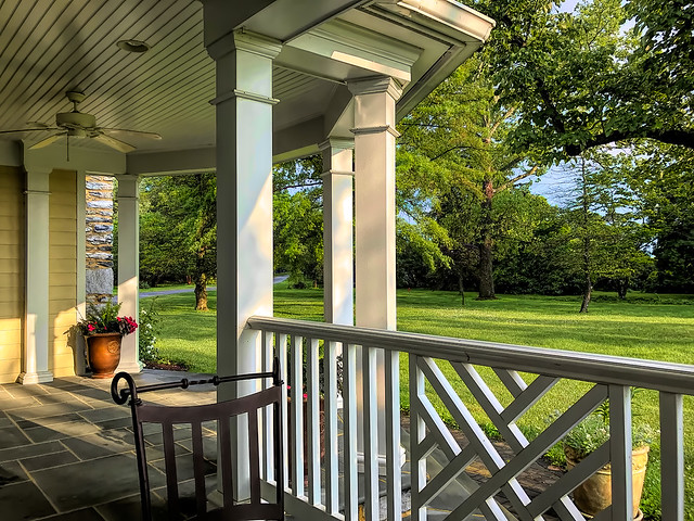 Porch in West Virginia, United States